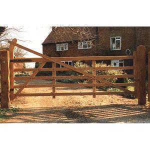 5 Bar Field Gates