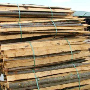 Chestnut Cleft Posts & Rails