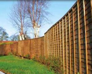 Pressure Treated Waney Edge Panels