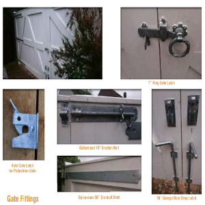 Gate Fittings & Accessories
